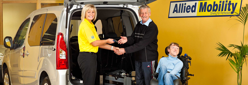 ebc83ede45226f Allied Mobility is the largest supplier of wheelchair accessible vehicles  for sale to the UK and Ireland. Our range of disability cars
