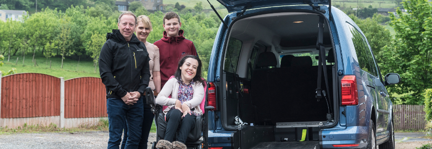 7aa6ca4c0ee240 Allied Mobility hire offers a wide range of wheelchair accessible vehicles  for hire