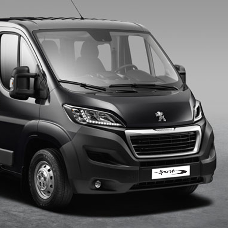 peugeot boxer spirit™ wheelchair accessible vehicle - allied mobility