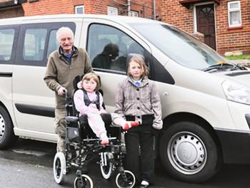 Charles Davies wheelchair car