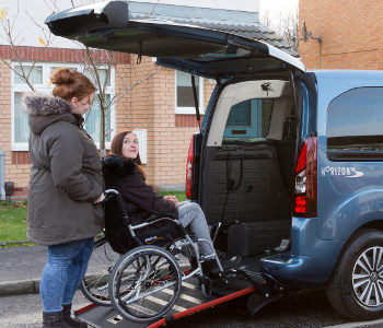 Peugeot Horizon Allied Mobility Wheelchair accessible hire box image