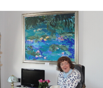 AMMonet in Marions house 2