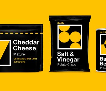 high contrast packaging