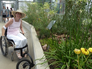Helen in Temperate house