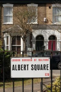 Albert square sign 1