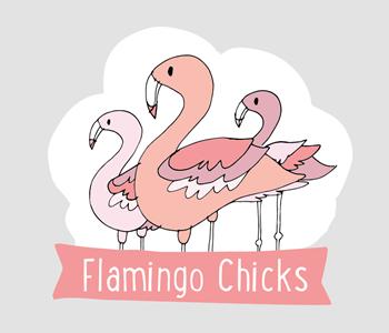 Flamingo chicks 1