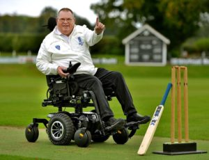 John McInteer wheelchair umpire