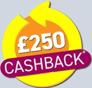 250 cashback
